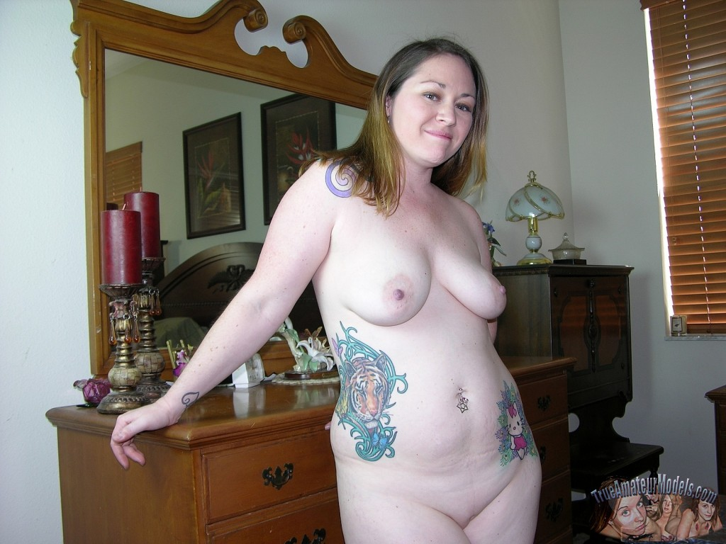 True Amateur Models presents Meredith in Chubby Amateur Tattoo ...