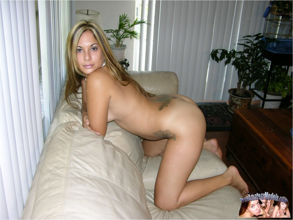 Blond, delicious nude latina amateurs super